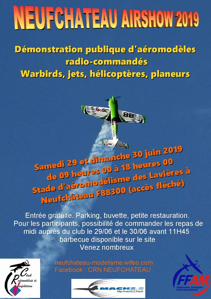 Affiche Meeting du Club
